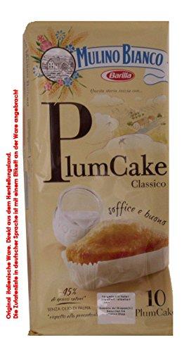 Mulino Bianco Plum Cake 30 X 33g = 990g Brioche preparata con Yogurt. Süße Backware Mini Kuchen mit Joghurt