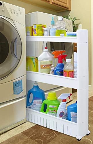 COLIBYOU Slide Out Storage Tower For Kitchen Or Laundry / Utility Room