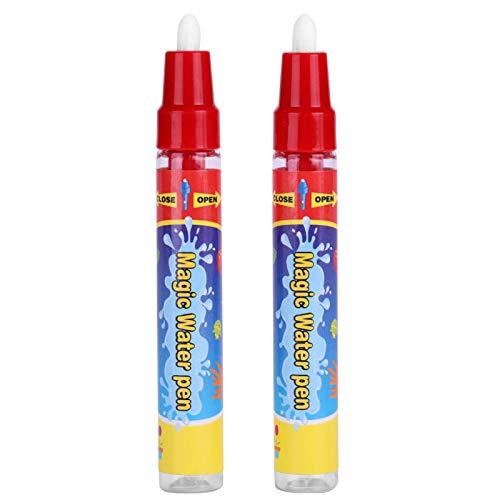 Zerodis Bolígrafos mágicos, marcadores de Agua, 2pcs / Set, bolígrafo de Agua, Regalo para niños