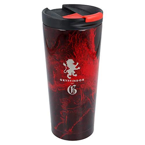 Stor Harry Potter | Termo Café para Llevar - Taza Termica de Viaje Acero Inoxidable 425 ml | Vaso Hermetico para Te o Café sin BPA con Tapa Antigoteo