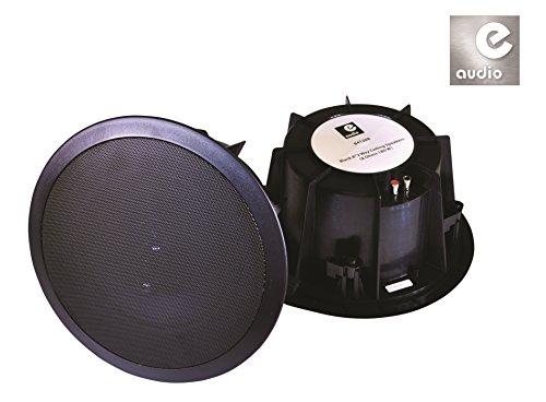 e-audio Twin verplaatst 2-weg waterafstotend plafondlamp luidspreker paar