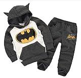 N/F Batman Niños Niñas Conjuntos de Ropa Ropa de Invierno