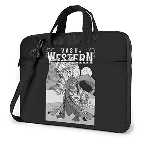 XCNGG Trigun Anime Laptop Shoulder Messenger Bag Tablet Computer Storage Backpack Handbag 15.6 inch