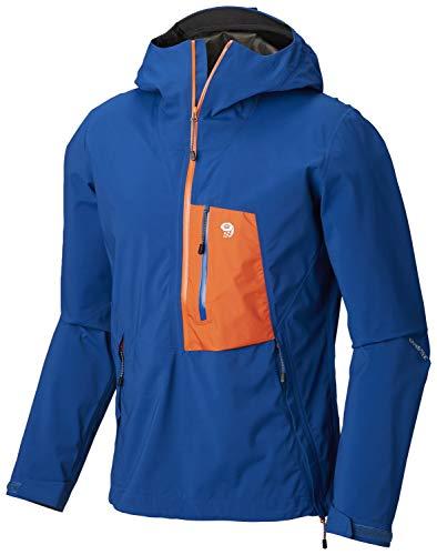 Mountain Hardwear Mens Exposure/ 2 Gore-Tex Paclite Stretch Pullover, L, Blue