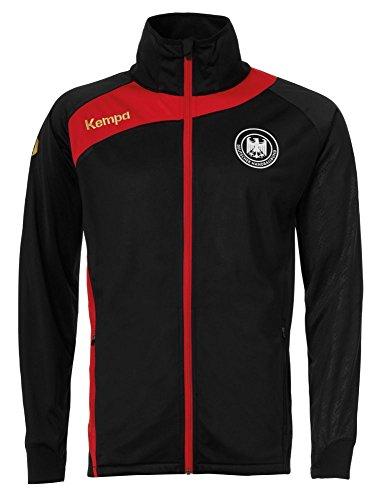 FanSport24 Kempa Handball DHB Deutscher Handballbund Multijacke Herren schwarz rot Größe XL