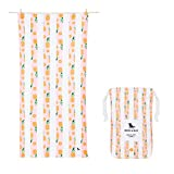 Dock & Bay Quick Drying Towel Backpacking Gear - Playful Pineapple, Extra Large (200x90cm, 78x35)- Swim, Pool, Yoga, Travelling