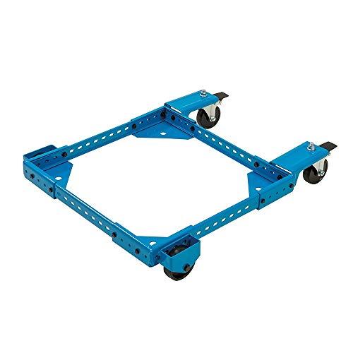 Silverline 665646 Soporte universal con ruedas, Azul