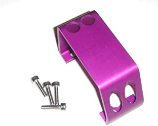 T-Maxx and E-Maxx Purple Anodized Steering Servo Cover