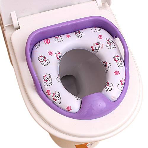 Sofia La premi/ère chaise pot de toilette pour entra/îner b/éb/é Chaise de voyage portable pour enfants pour les  tout-petits enfants Violet clair