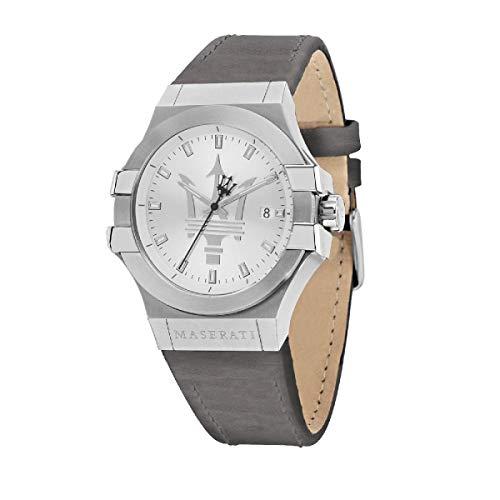 Reloj para Hombre, Colección Potenza, en Acero, Cuero - R8851108018