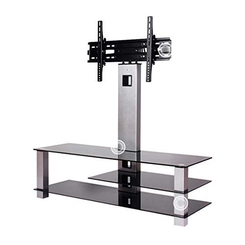 DAKEUR Soporte Universal para TV LCD, Estante de pie sin Perforaciones, Soporte Combinado de gabinete de Mesa de café, Adecuado para 32-65 Pulgadas