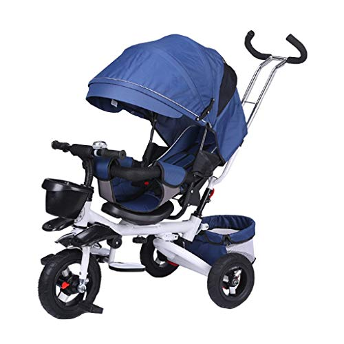 Sale!! Kids' Tricycles Foldable Child Tricycle 4-in-1 for 6 Months to 6 Years Old Boy and Girl Troll...