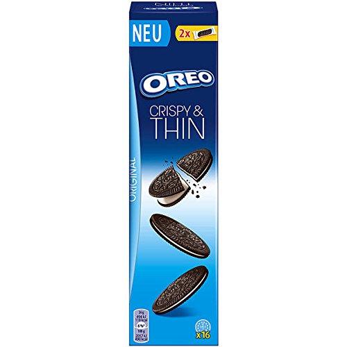 Oreo Crispy & Thin Kekse 96g (Pack of 10)
