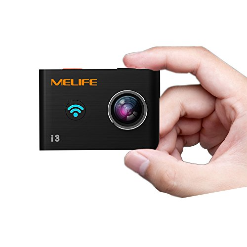 MELIFE i3 4K WiFi Action Camera UHD 4K 24FPS 14MP Waterproof Helmet Camera with Remote Control