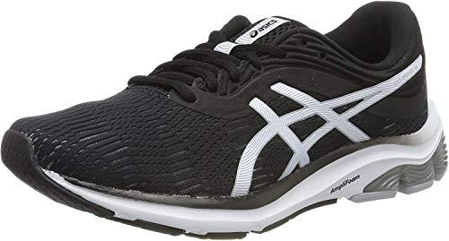 Asics Gel-Pulse 11, Zapatillas de Running Mujer, Negro (Black/Piedmont Grey 001), 36 EU