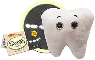 GIANTmicrobes Tooth (Molar) Plush Toy