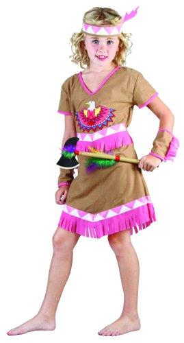 Déguisement indienne fille - 7 - 9 ans (M)