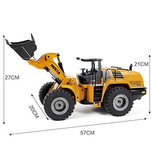 RC Auto kaufen Baufahrzeug Bild 4: s-idee® 18168 Metall Radlader 1:14 Profi mit Sound und Licht die Cast rc Modell Huina 583 1583*