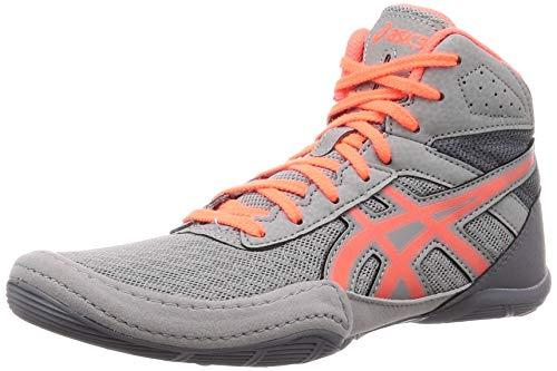 Asics 1084A007 Ringer-Schuhe für Jungen, Matflex 6 GS, Jugendliche, Grau