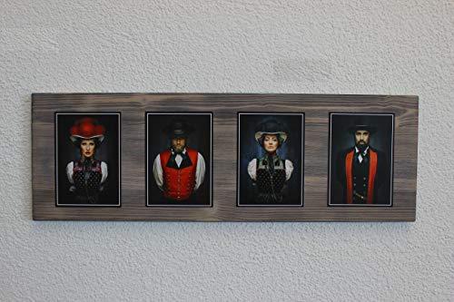 """JOKA International - Black Forest Schwarzwaldbilder auf Holz """"Denise """" 60 x 20 x 1.5 cm Design trifft Geschichte, eine perfekte Kombination aus modern und rustikal. (Originale von Sebastian Wehrle)"""