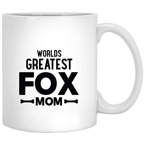 Grappig cadeau voor dierenvrienden van de grootste vosmama ter wereld.