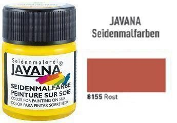 Javana Seidenmalfarbe 50ml Rost
