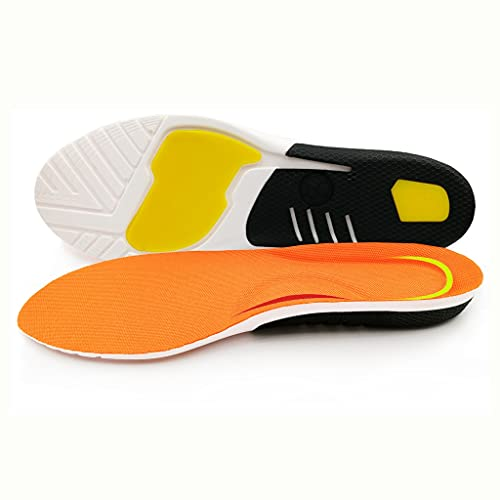 GELTDN Plantilla deportiva Cuidado de pies ortopédicos de silicona para pies Zapatos Sole talón dolor plantar fasciitis amortiguador almohadillas (Color : 3 pairs, Size : S EU 35-40)