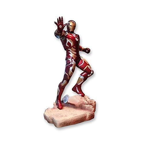 50cm Avengers 3 Marvel Iron Man Model Hand-Made Gift Doll Doll Resin Large Decoration Mk43 Birthday Gift Handmade Toy Model Statue D-20-7-1 image