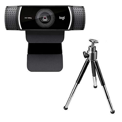 Webcam Câmera Logitech C922 Full Hd 1080p 30 fps 720p 60 Fps Com Tripé Youtuber Streamer Web Cam Microfone 15 Mpx