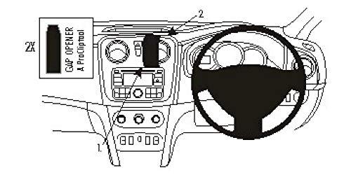 Brodit-Support proClip pour Dacia sandero 654897 13–13