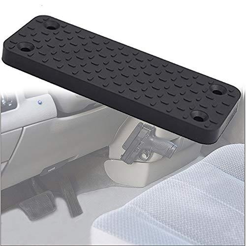 HIMAPETTR Gun Magnet, Gun Magnethalterung,Gummi Beschichteten Magnet Halter, Mit Leicht Zu Verstecken, 35lb Unterstützung, Halterungen überall Für Fahrzeug Und Zuhause
