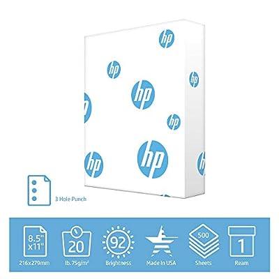 HP Printer Paper Office 20lb, 8.5 x11, 1 Quickpack Case