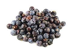 Juniper Berries 100% Natural - No Pesticides - Non Irradiated 1 lb (16oz) Botanical Name: Juniperus Communis Harvested in Europe