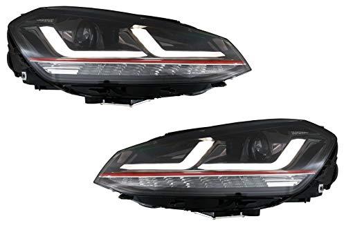 KITT LEDHL104-GTI Osram Phares Full L E D 12-17 Rouge Mise à niveau Xenon et halogène