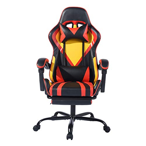 Gaming Chair Computer Racing Chair Ergonomic Recling Chair...