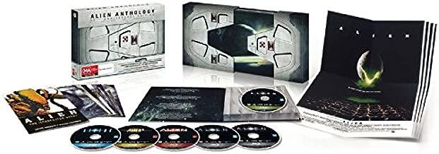 Alien Anthology - 35th Anniversary Edition (4 Films) - 6-Disc Box Set ( Alien / Aliens / Alien 3 (Alien³) / Alien: Resurrection ) [ Blu-Ray, Reg.A/B/C Import - Denmark ]