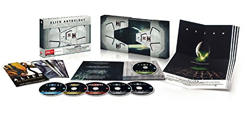Alien Anthology - 35th Anniversary Edition (4 Films) - 6-Disc Box Set ( Alien / Aliens / Alien 3 (Alien³) / Alien: Resurrection ) [ Blu-Ray, Reg.A/B/C Import - Denmark ]
