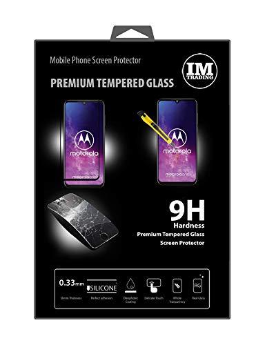 cofi1453® 5D Schutz Glas kompatibel mit Motorola ONE Zoom Curved Panzer Folie Vollständig Klebend & Abdeckung