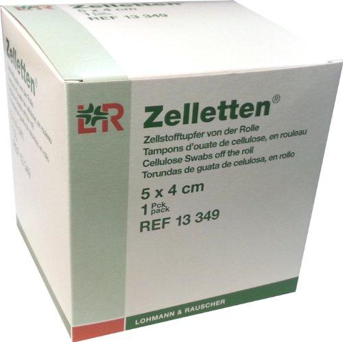 Lohmann & Rauscher Zelletten, Zellstofftupfer von der Rolle, 1er Pack (1 x 1 Stück)
