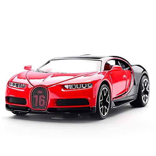 1:32 Kinder Legierung Auto Modell Spielzeug Zurückziehen Automodell LED Licht Fahrzeug Pull Back Car Simulation Sportwagen Für Jungen Mädchen Kleinkinder Geburtstagsparty