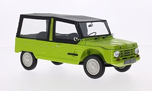 Citroen Mehari, light Grün, 1983, Model Car, Ready-made, Norev 1 18 by Citroen