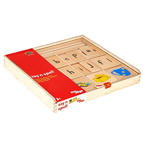 Eduedge Eduedge Say and Spell Made from high Quality Plywood (E1010)