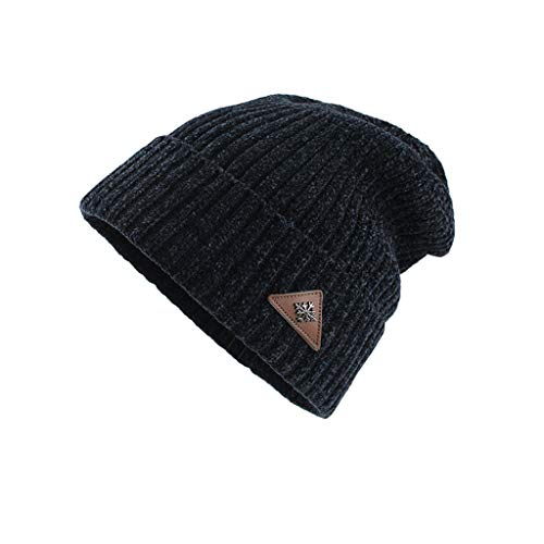 Auifor mannen vrouwen winter trendy warme extra grote Chunky Baggy Stretchy Slouchy Skully Hat