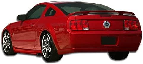 Brightt Duraflex ED-NFI-995 Eleanor Rear Bumper Cover - 1 Piece Body Kit - Compatible With Mustang 2005-2009