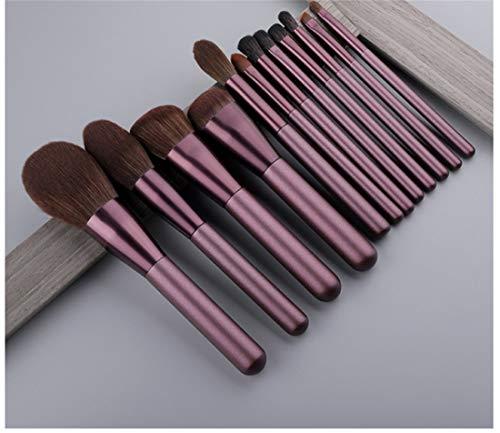 Make-up-pinsel-set Mit Holzgriff 12-teiliges Rouge-pinsel-set Eyeliner Foundation Make-up-pinsel-set...