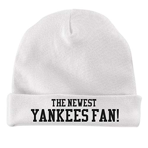The Newest Yankees Fan!: Infant Baby Hat