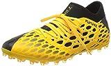 PUMA Future 5.3 Netfit MG, Botas de fútbol Hombre, Amarillo (Ultra Yellow Black), 43 EU