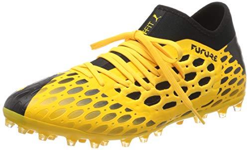 PUMA Future 5.3 Netfit MG, Botas de fútbol para Hombre, Amarillo (Ultra Yellow Black), 43 EU