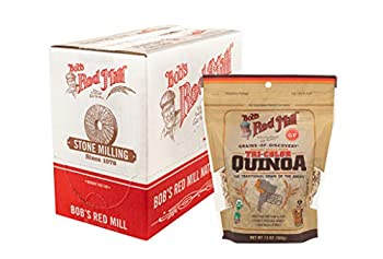 Bob s Red Mill Organic Tri-Color Quinoa Grain 13-ounce  Pack of 5