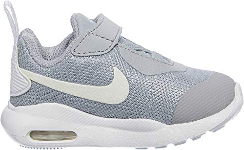 Nike Unisex Baby Air Max Oketo (TDV) Niedrige Hausschuhe, Grau (Wolf Grey/White 000), 21 EU